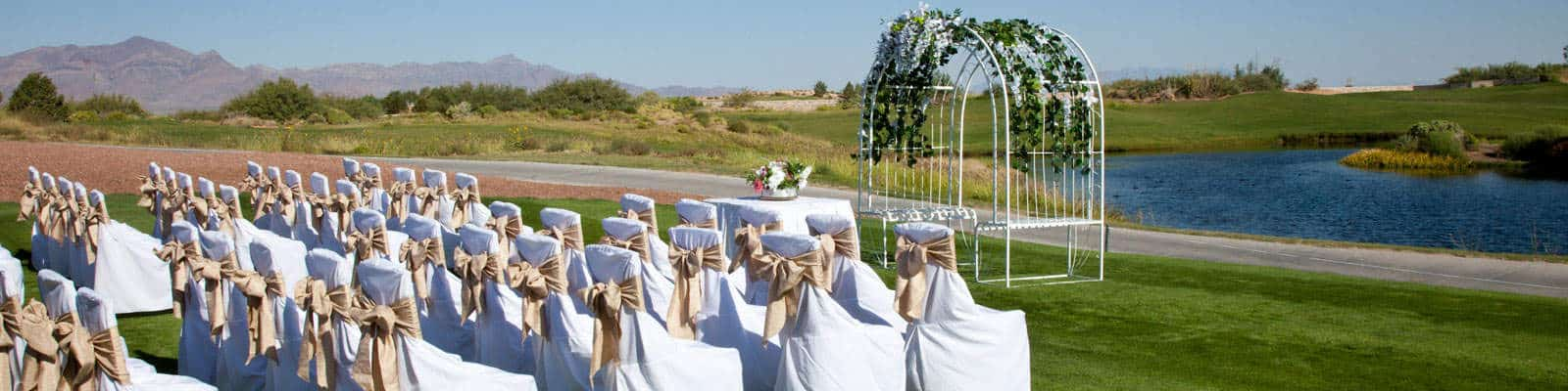 Celebrate your special occasions on the golf course