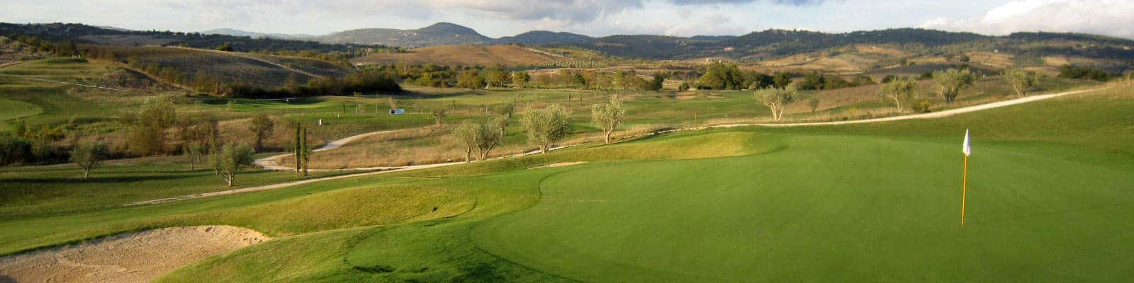 Golf travel in Tuscany, Saturnia